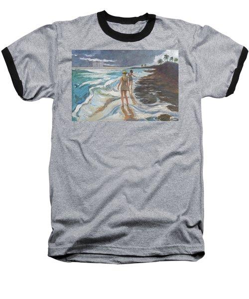 Bahia Honda Beach Baseball T-Shirt