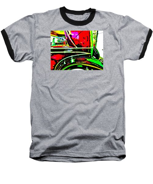 Bahre Car Show II 26 Baseball T-Shirt by George Ramos