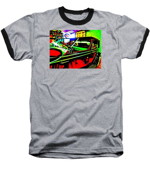 Bahre Car Show II 31 Baseball T-Shirt by George Ramos