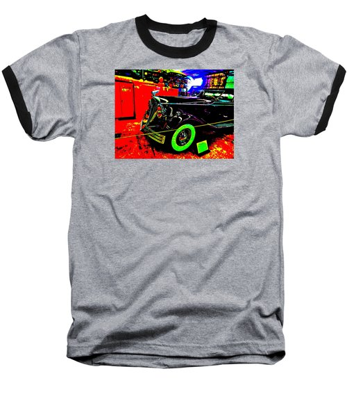 Bahre Car Show II 32 Baseball T-Shirt by George Ramos