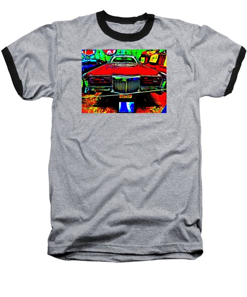 Bahre Car Show II 38 Baseball T-Shirt by George Ramos
