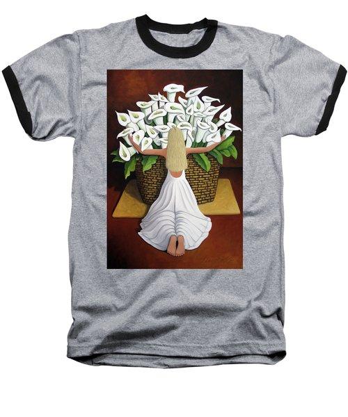 Baileyrae Lilies Baseball T-Shirt