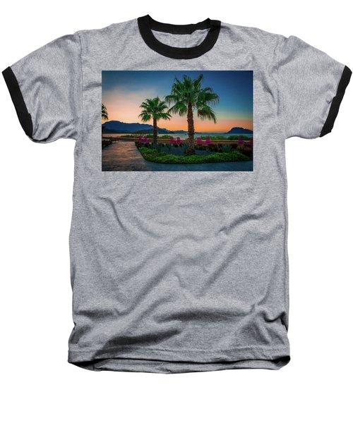 Baja Sunset Baseball T-Shirt