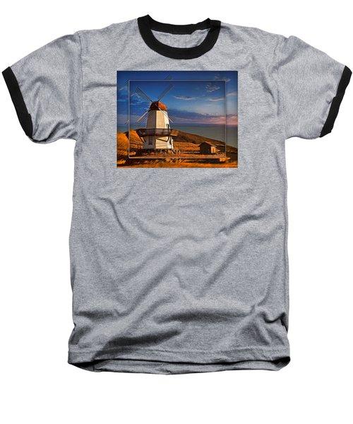 Baker City Windmill_1a Baseball T-Shirt