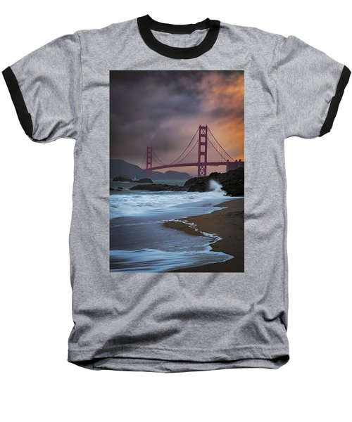Baker's Beach Baseball T-Shirt