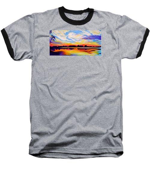 Baker's Sunset Baseball T-Shirt