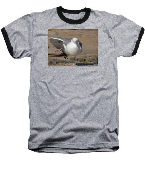 Balance Baseball T-Shirt by Jewels Blake Hamrick