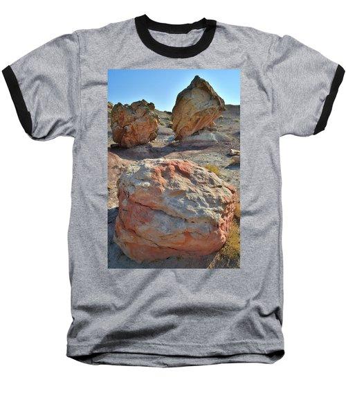Balanced Boulders In Bentonite Site Baseball T-Shirt