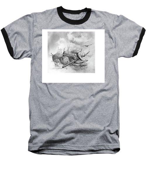 Balanced In The Field Baseball T-Shirt