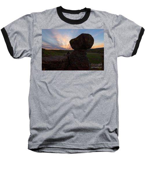 Baseball T-Shirt featuring the photograph Balanced by Mike Dawson