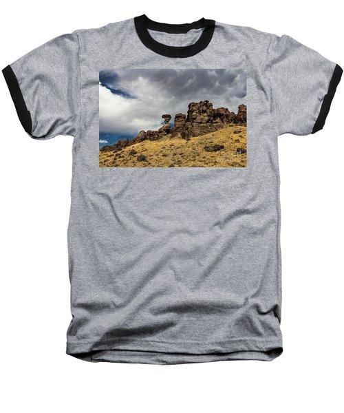Balanced Rock Idaho Journey Landscape Photography By Kaylyn Franks Baseball T-Shirt