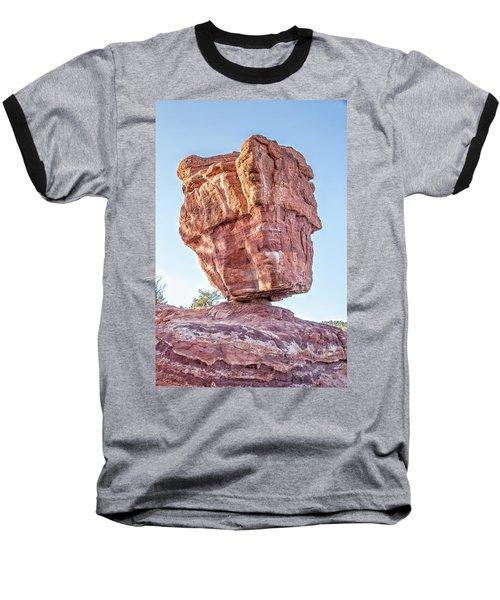 Balanced Rock In Garden Of The Gods, Colorado Springs Baseball T-Shirt