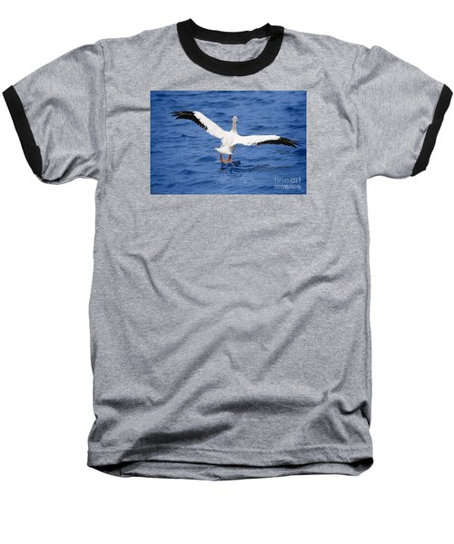 Balancing Act Baseball T-Shirt