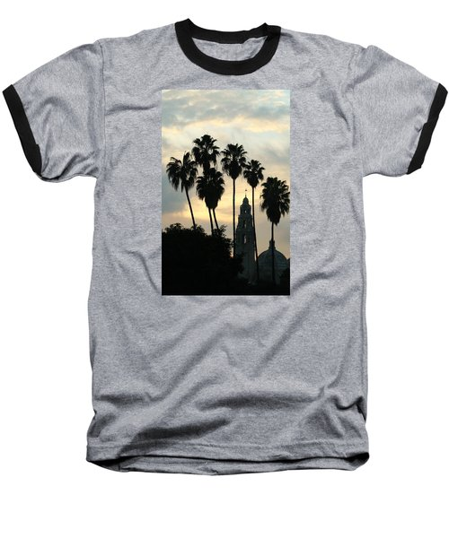 Balboa Park Museum Of Man Baseball T-Shirt by Christopher Woods