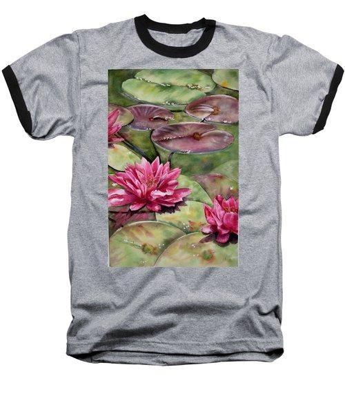 Balboa Water Lilies Baseball T-Shirt