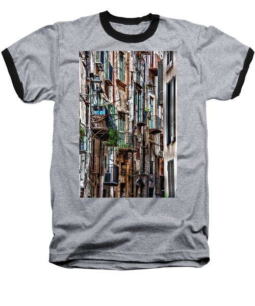 Balconies Of Palermo Baseball T-Shirt