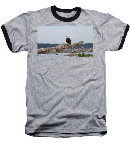 Bald Eagle #1 Baseball T-Shirt