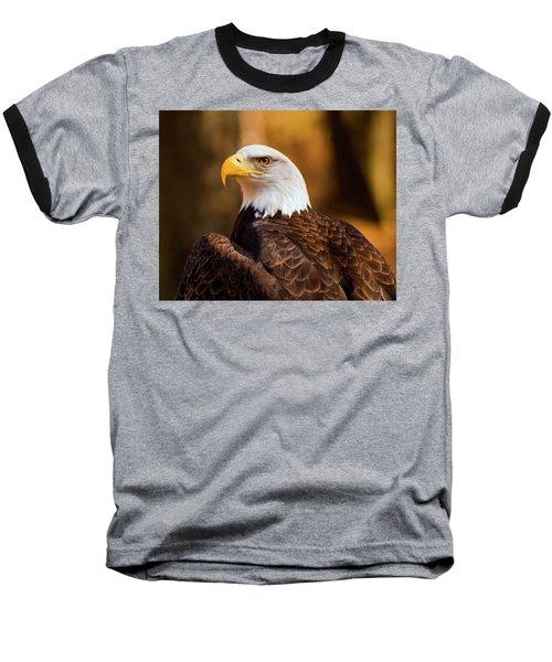 Bald Eagle 2 Baseball T-Shirt