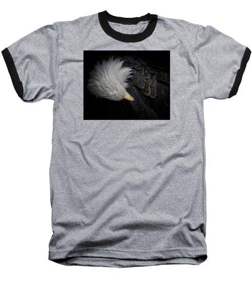 Bald Eagle Cleaning Baseball T-Shirt