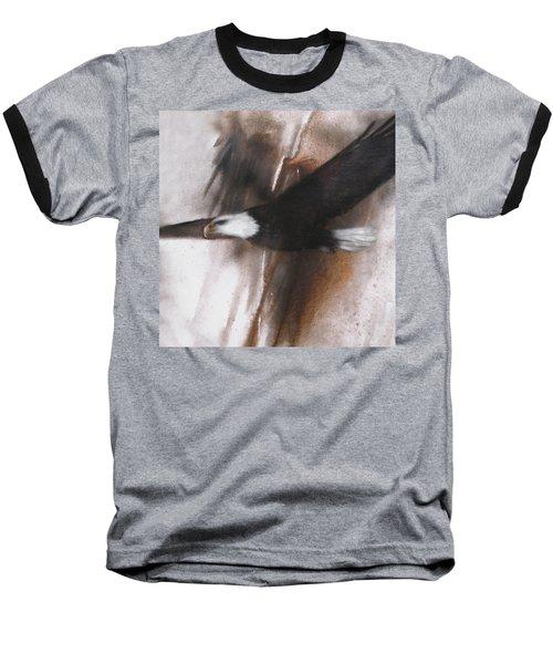 Bald Eagle Flight Baseball T-Shirt