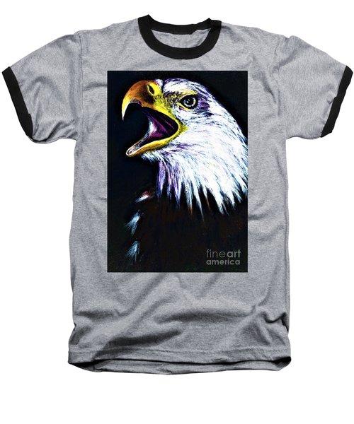 Bald Eagle - Francis -audubon Baseball T-Shirt
