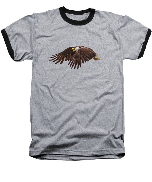 Baseball T-Shirt featuring the photograph Bald Eagle  by Mark Andrew Thomas