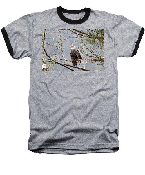 Bald Eagle Resting Baseball T-Shirt