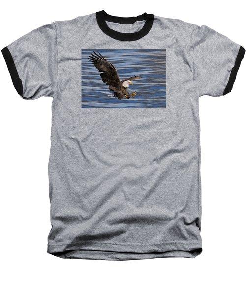 Bald Eagle Strike Baseball T-Shirt