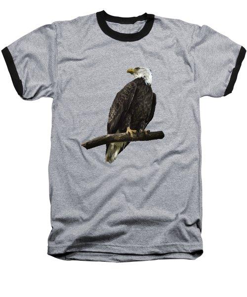 Bald Eagle Transparency Baseball T-Shirt
