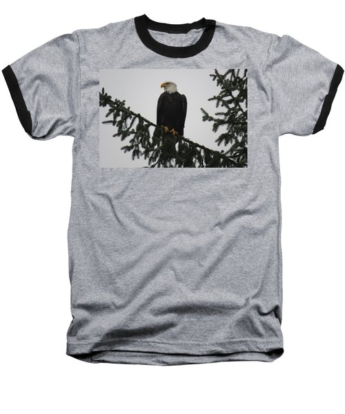 Bald Eagle Watching Baseball T-Shirt