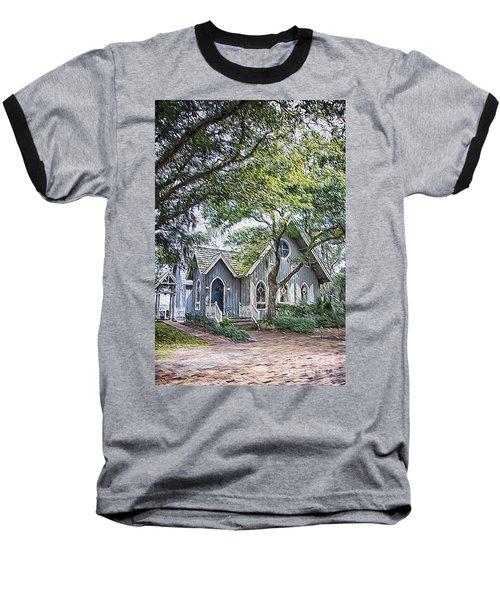 Bald Head Island Chapel Baseball T-Shirt