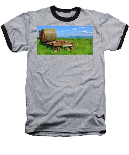 Bales At Rest Baseball T-Shirt