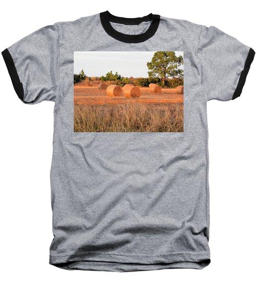 Baseball T-Shirt featuring the photograph Bales by Rosalie Scanlon