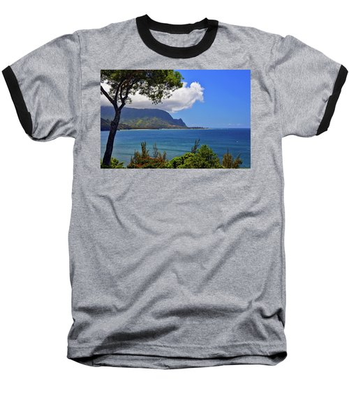 Bali Hai Hawaii Baseball T-Shirt by Marie Hicks