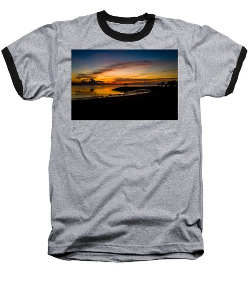 Bali Sunrise I Baseball T-Shirt
