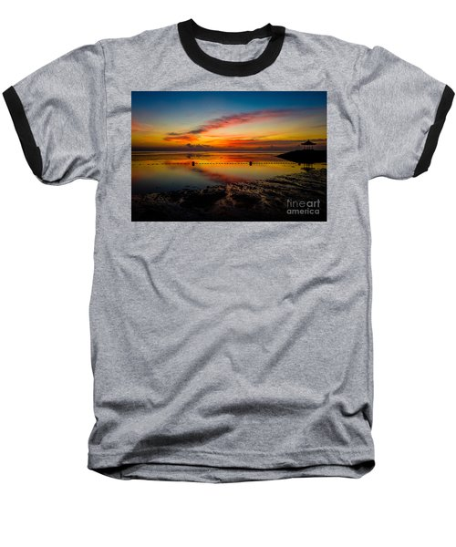 Bali Sunrise II Baseball T-Shirt