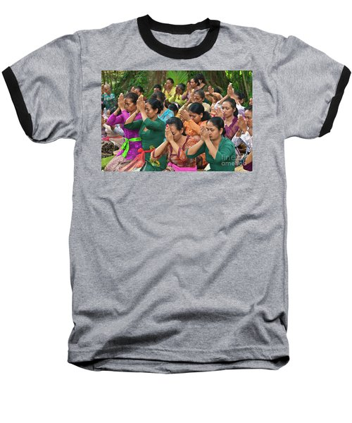 Baseball T-Shirt featuring the photograph Bali_d323 by Craig Lovell