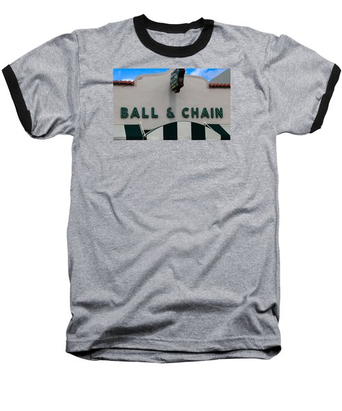 Ball And Chain Baseball T-Shirt