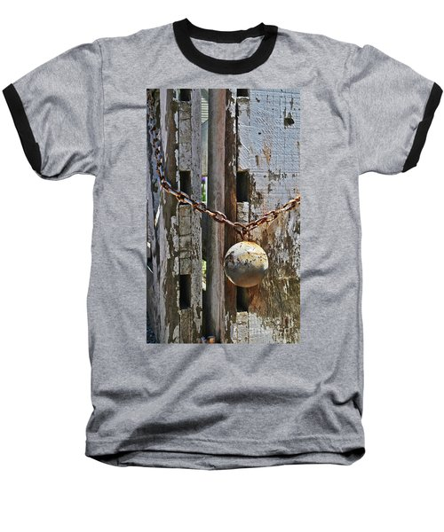 Ball And Chain Baseball T-Shirt