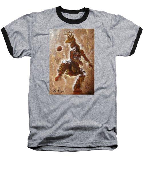Ball Game Baseball T-Shirt by J- J- Espinoza