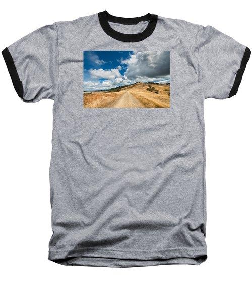 Ball Hills In Summer 3 Baseball T-Shirt by Greg Nyquist