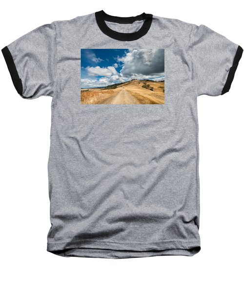 Ball Hills In Summer 3 Baseball T-Shirt