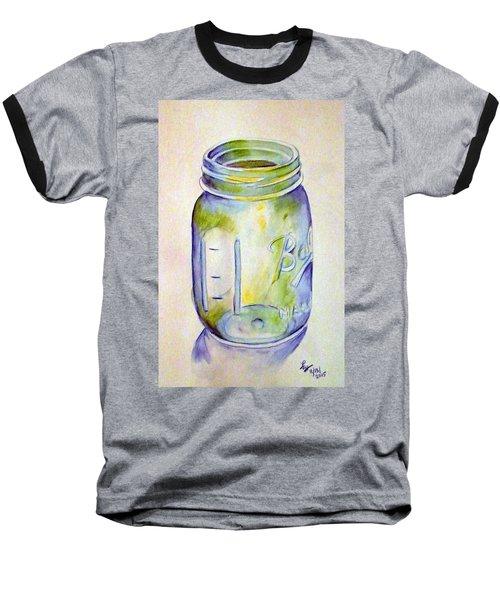 Ball Mason Jar Baseball T-Shirt