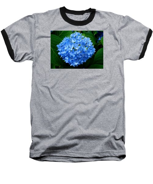 Baseball T-Shirt featuring the photograph Ball Of Blue by Michiale Schneider