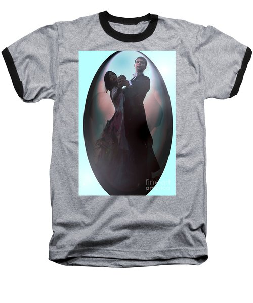 Baseball T-Shirt featuring the painting Ball Room Dancer by Tbone Oliver