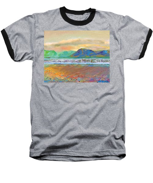 Ballenskelligs Bay Baseball T-Shirt