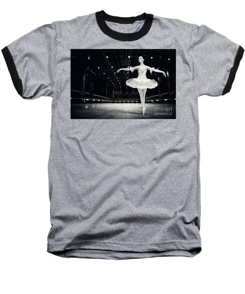 Baseball T-Shirt featuring the photograph Ballerina by Dimitar Hristov