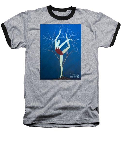 Ballerina Tree Baseball T-Shirt
