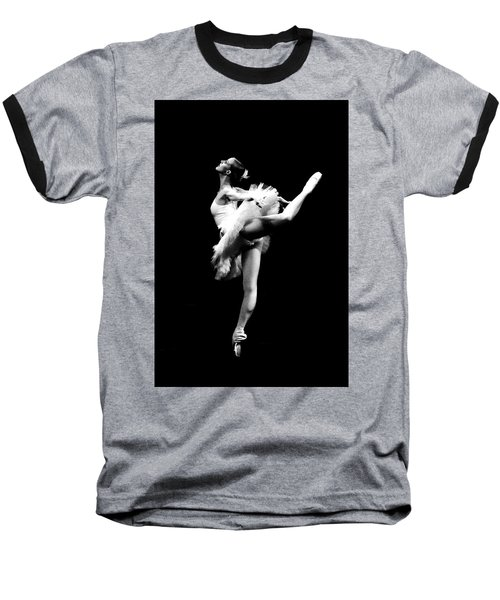 Ballet Dance Baseball T-Shirt by Sumit Mehndiratta