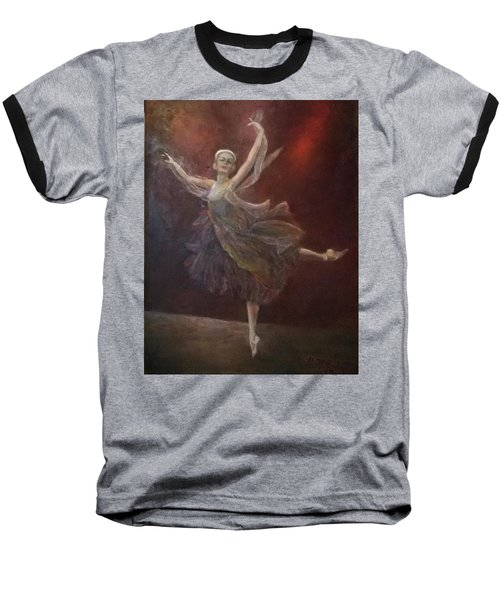 Ballet Dancer Anna Pavlova Baseball T-Shirt